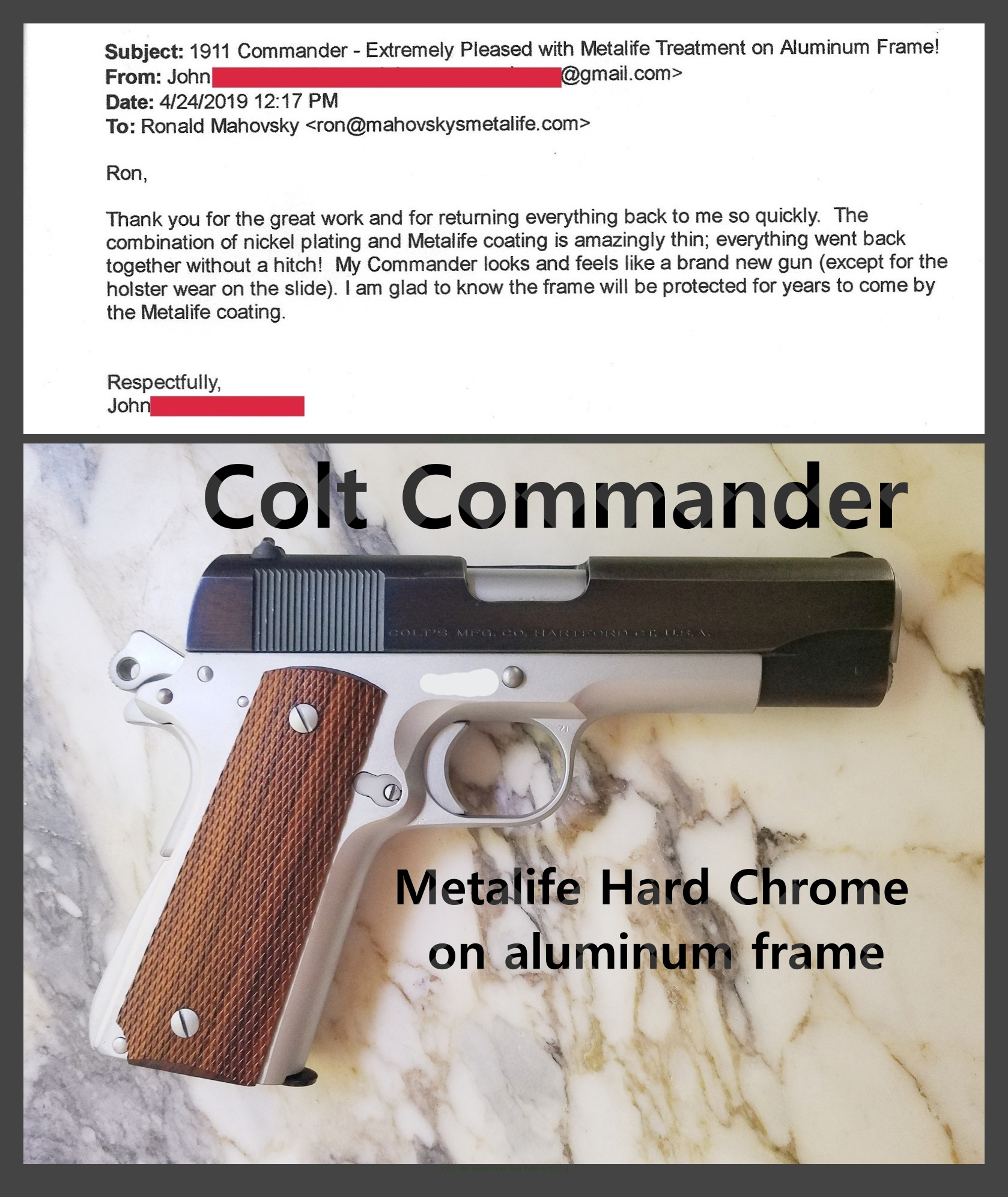 Firearm Plating -Mahovsky's Metalife