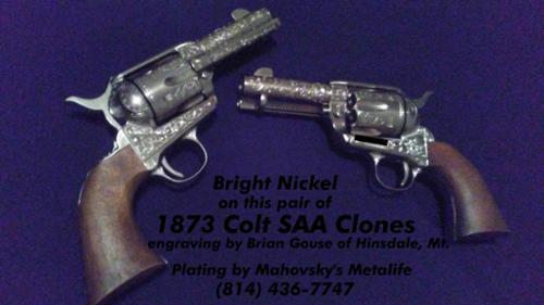 Firearm Plating -Mahovsky's Metalife